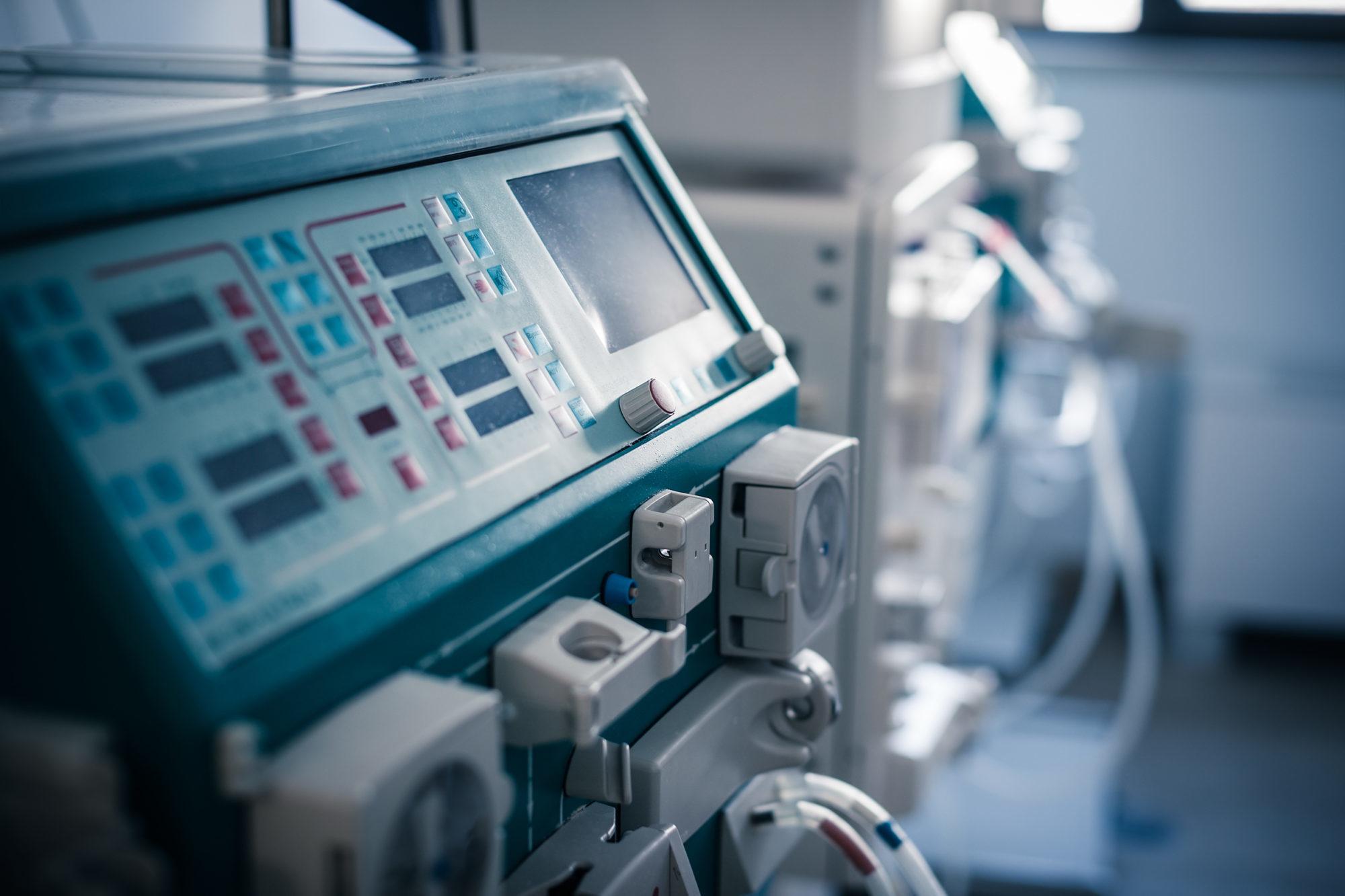 Machine à dialyser